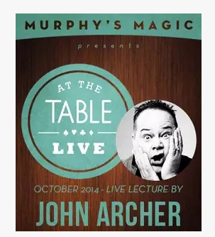 2014 At the Table Live Lecture by John Archer (Download)
