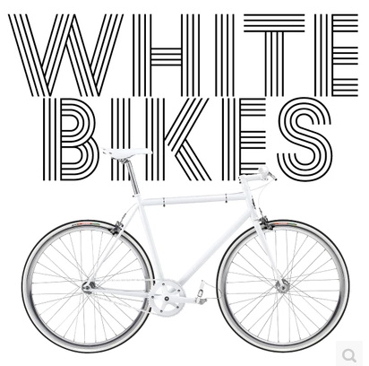 2014 White Bikes by Paul Richards (Download)