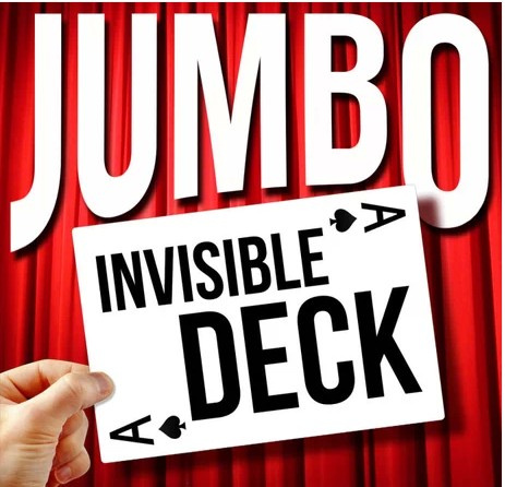 2014 Dan Harlan - Jumbo Invisible Deck (Download)