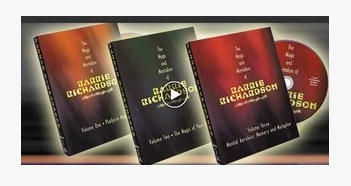 2010 Magic and Mentalism of Barrie Richardson 3 vols (Download)