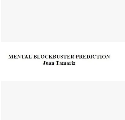 Juan Tamariz - Mental Blockbuster Prediction (Download)