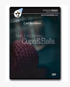 Table Hopping Cups And Balls by Carl Andrews (Download)