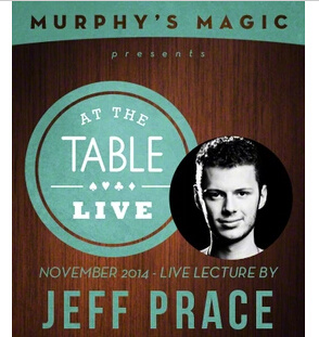 2014 At the Table Live Lecture by Jeff Prace (Download)