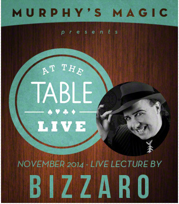 2014 At the Table Live Lecture starring Bizzaro (Download)