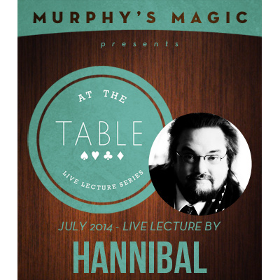 2014 At the Table Live Lecture starring Chris Hannibal (Download)