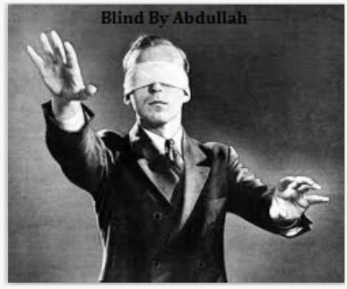 2014 Blind by Abdullah Mahmoud (Download)