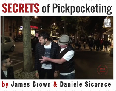2015 Secrets of Pickpocketing by James Brown (Download)