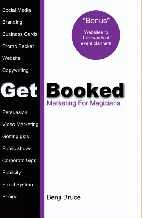 Get Booked by Benji Bruce (PDF download)