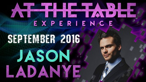 At The Table Live Lecture Jason Ladanye September 21st 2016