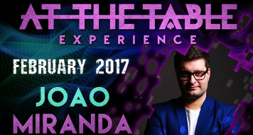 At The Table Live Lecture João Miranda February 15th 2017