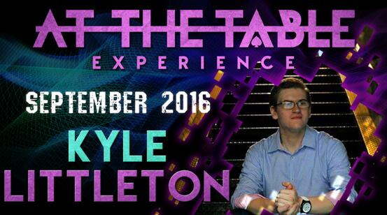At The Table Live Lecture by Kyle Littleton 2016