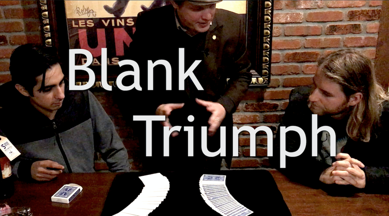 Blank Triumph by Michael O'Brien (Video Download)