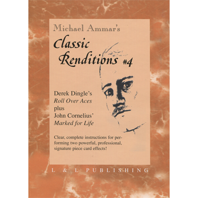Classic Renditions by Michael Ammar Volumes 1-4