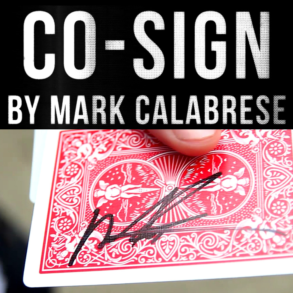 Co-Sign by Mark Calabrese (Instant Download)