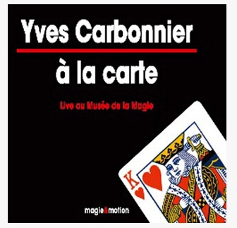 2014 A la Carte by Yves Carbonnier (Download)