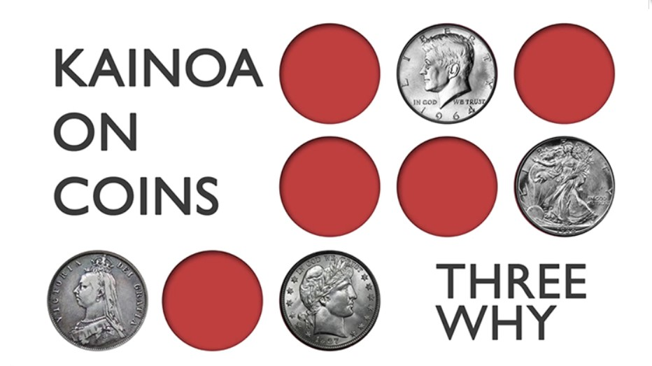 Kainoa on Coins: Three Why by Kainoa Harbottle