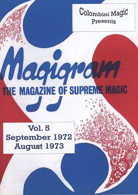 Magigram Vol 5 by Aldo Colombini