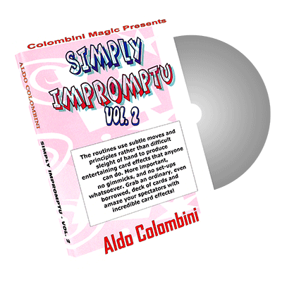 Aldo Colombini - Simply Impromptu Vol.2 by Wild-Colombini Magic