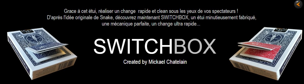 SWITCHBOX by Mickael Chatelain English Version