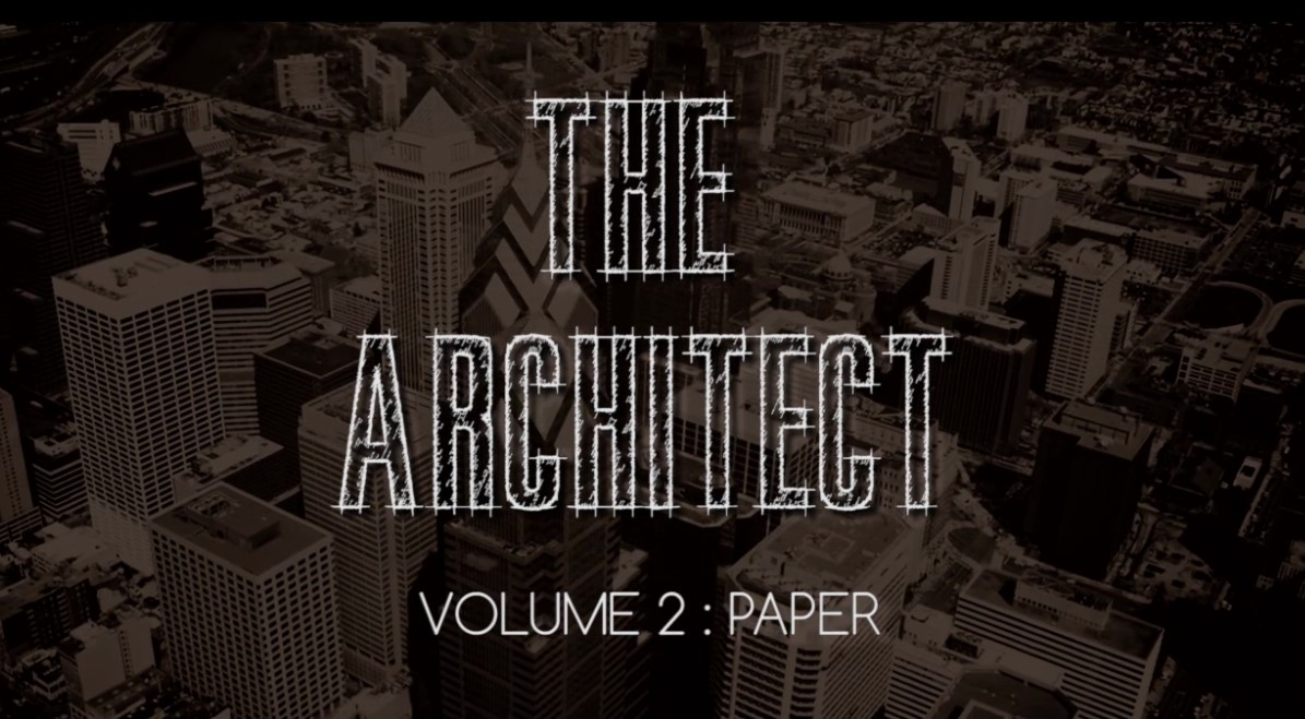 The Architect Vol 2 Paper by Michael Kaminskas