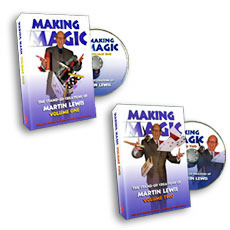 Making Magic Volume 2 by Martin Lewis (DVD download)