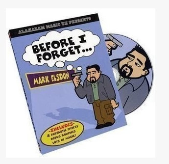 Before I Forget by Mark Elsdon (Download)