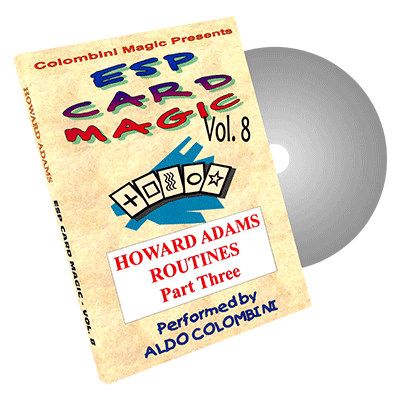 ESP Card Magic (Howard Adams Part 3) Vol. 8 by Aldo Colombini