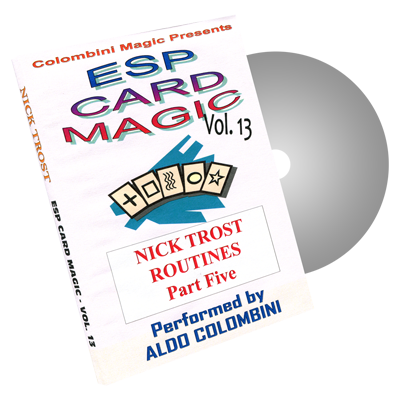 ESP Card Magic Volume 13 by Wild-Colombini Magic