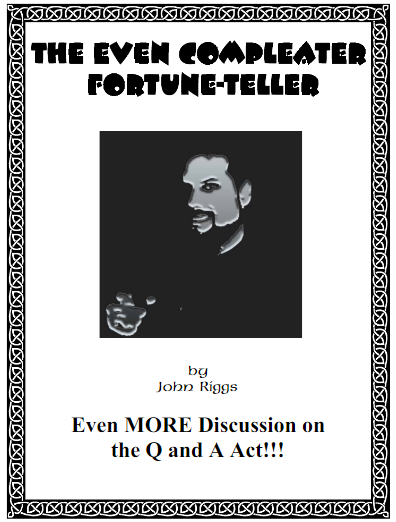 The Even Compleater Fortune-Teller By John Riggs PDF