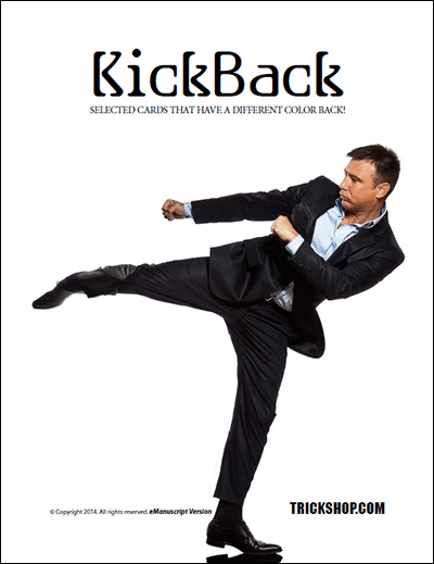 Trickshop Kickback Card Tricks (PDF DOWNLOAD)