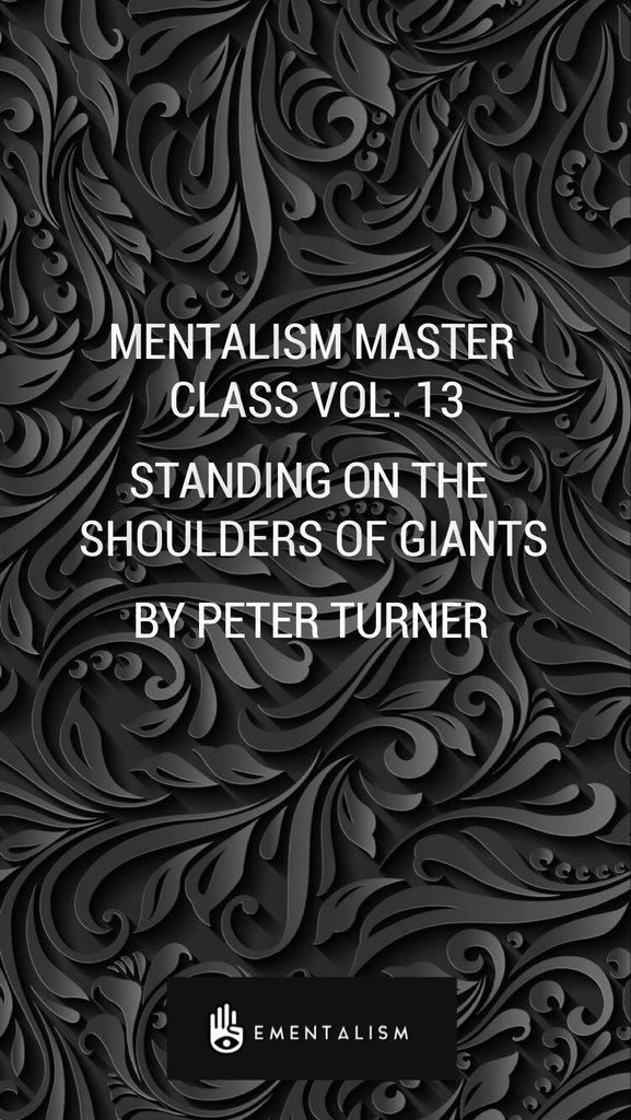 Standing On The Shoulders Of Giants Vol.13 by Peter Turner