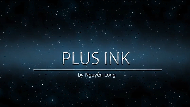Plus Ink by Nguyen Dragon (Video Download)