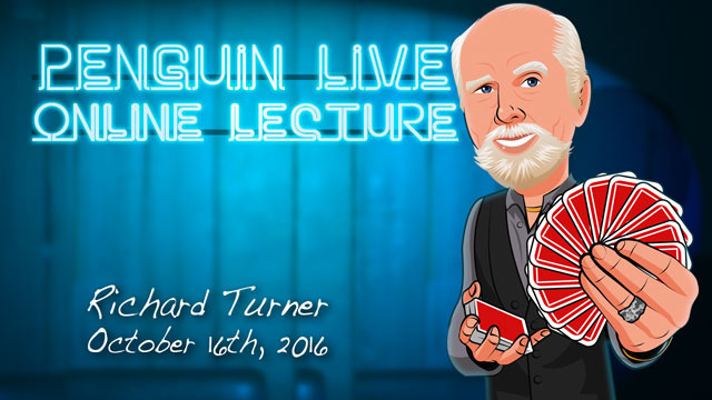 Richard Turner Penguin Live Online Lecture