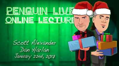 Scott Alexander and Dan Harlan Holiday Special Penguin Live 4
