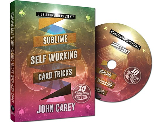 Sublime Self Working Card Tricks by John Carey (video Downloads)