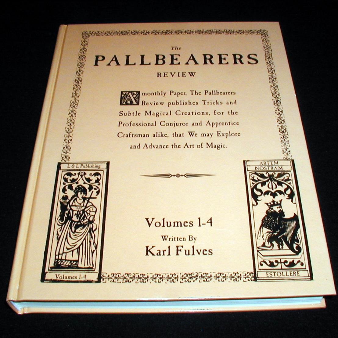 Karl Fulves - Pallbearers Review vols 1-4