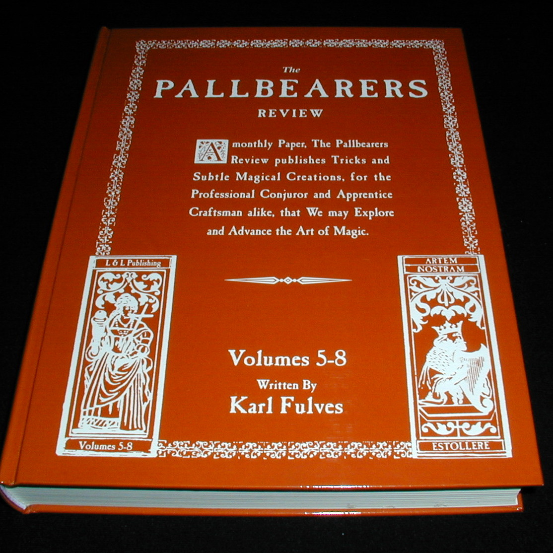 Karl Fulves - Pallbearers Review vols 5-8