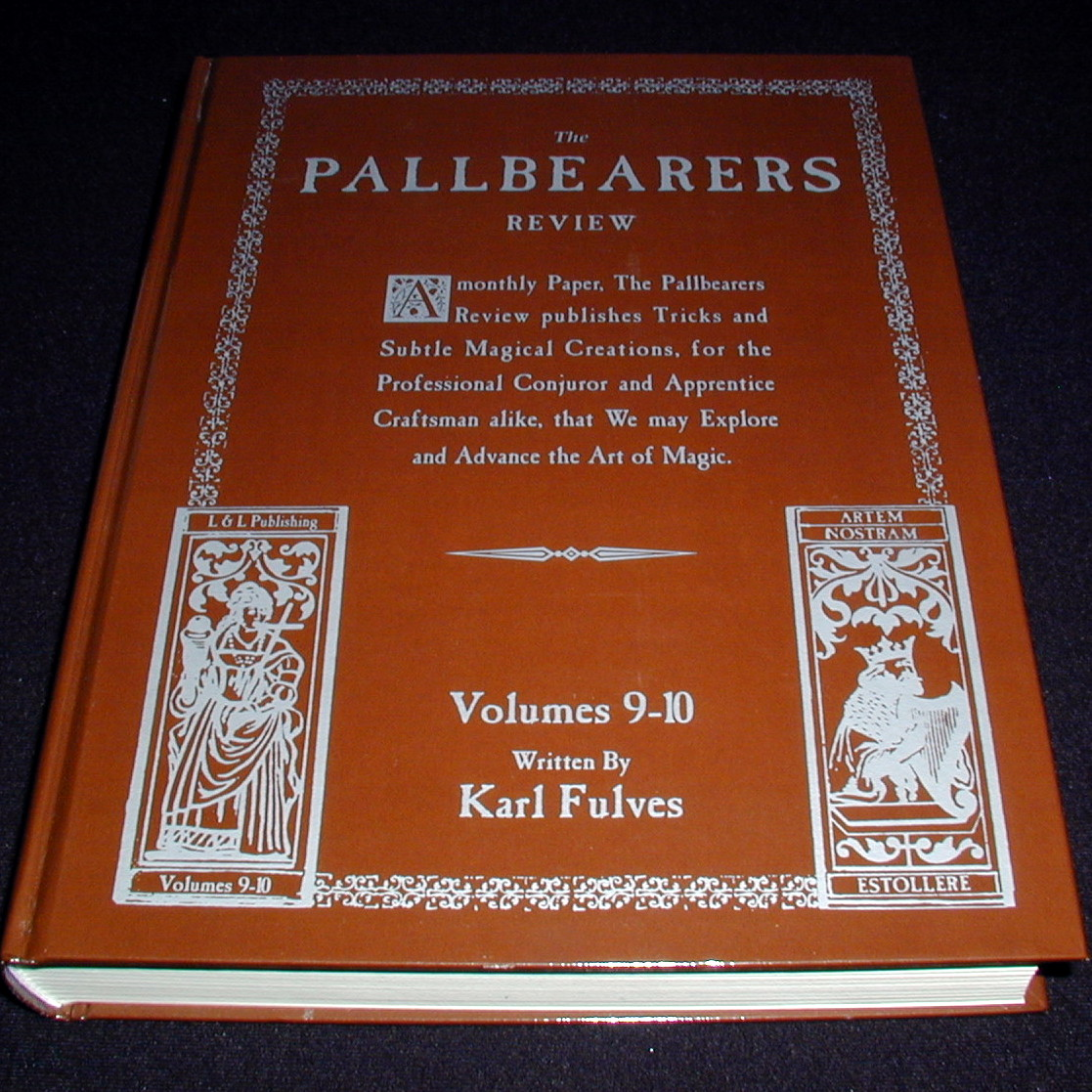 Karl Fulves - Pallbearers Review vols 9-10