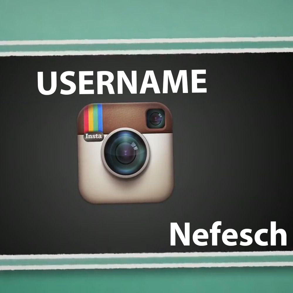USERNAME By Nefesch (Instant Download)