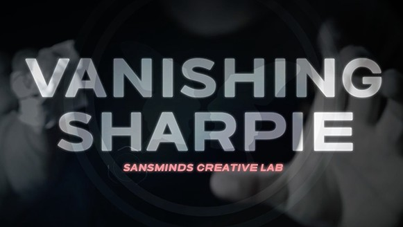Vanishing Sharpie by SansMinds Creative Lab