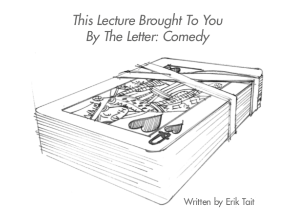 This Lecture Brought To You By The Letter Comedy Erik Tait (PDF Download)