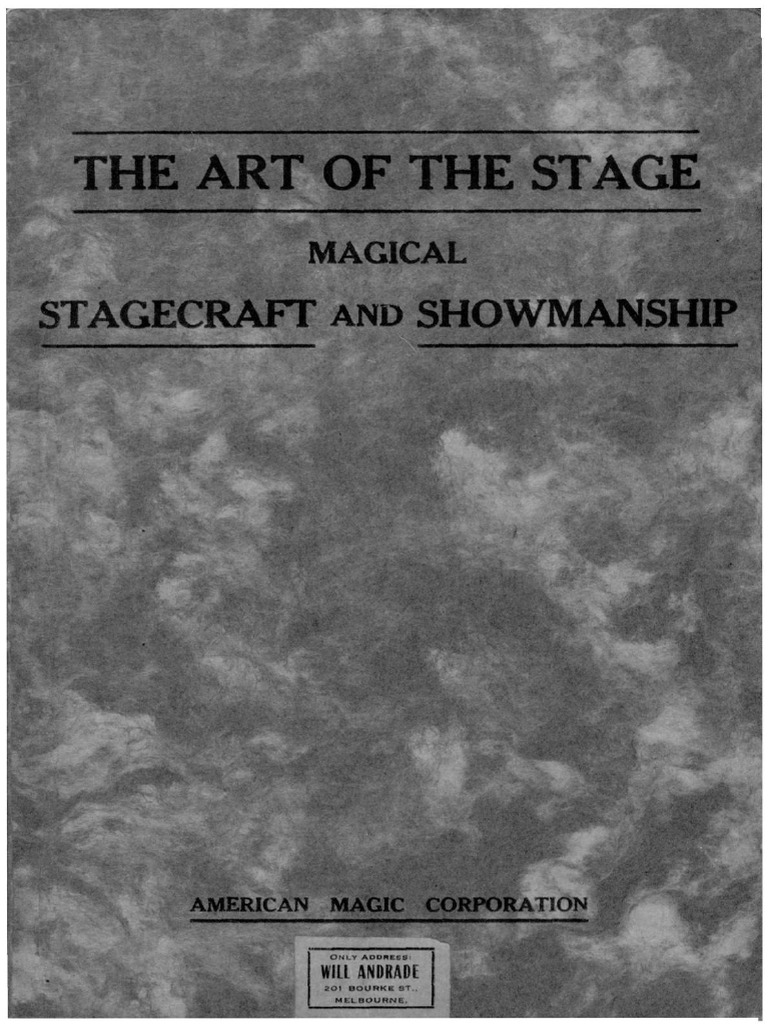 The Art of the Stage by Burling Hull