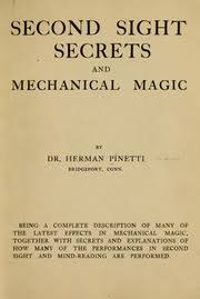 Second Sight Secrets by German Pinetti