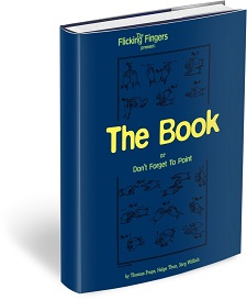 Flicking Fingers - The Book Or Dont Forget To Point