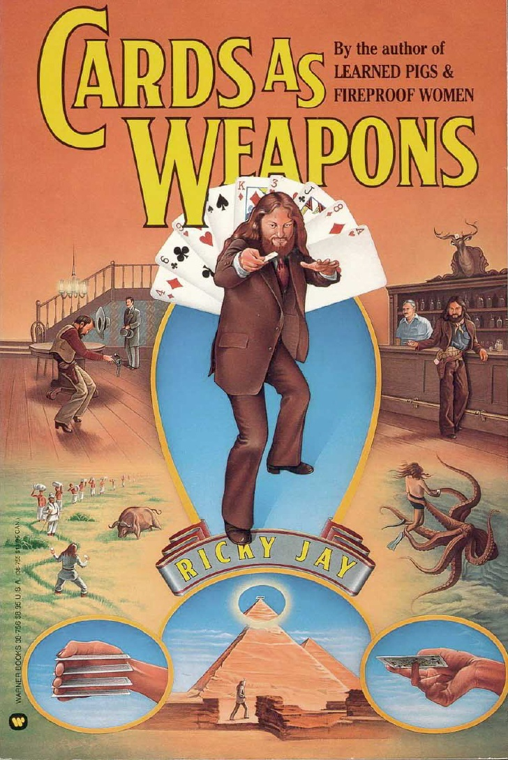 Ricky Jay - Cards As Weapons