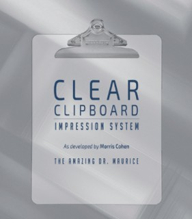 The Amazing Dr. Maurice's original Clear Clipboard Impression System