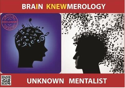 Unknown Mentalist - Brain Knewmerology