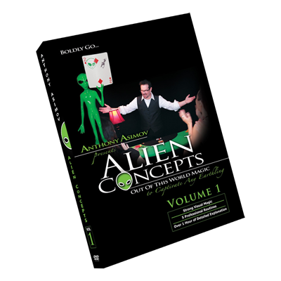 Alien Concepts Part 1 by Anthony Asimov Black Rabbit Series Issue #1
