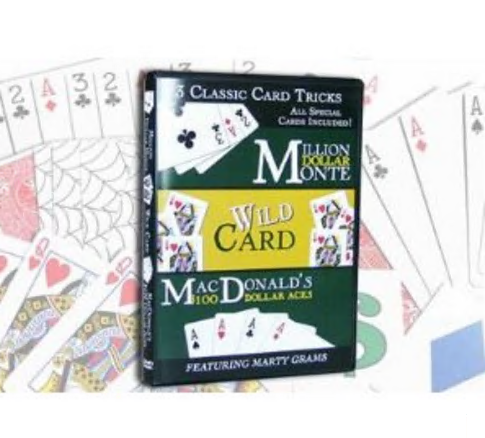 3 Classic Card Tricks by Marty Grams and Magic Makers DVD download