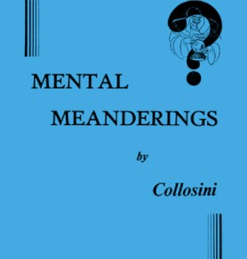 Mental Meanderings by Collosini PDF